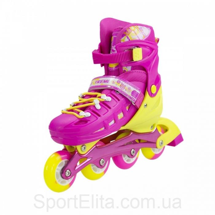 729087b2610253 ... міцною алюмінієвою рамою, жорстким черевиком з довжиною устілки 20-23  см і фіксаторами ноги у вигляді ременя п'яти й шнурівки, крім того є  практична ...